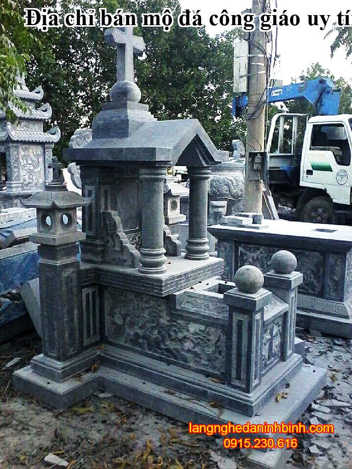 Địa chỉ bán mộ đá công giáo uy tín