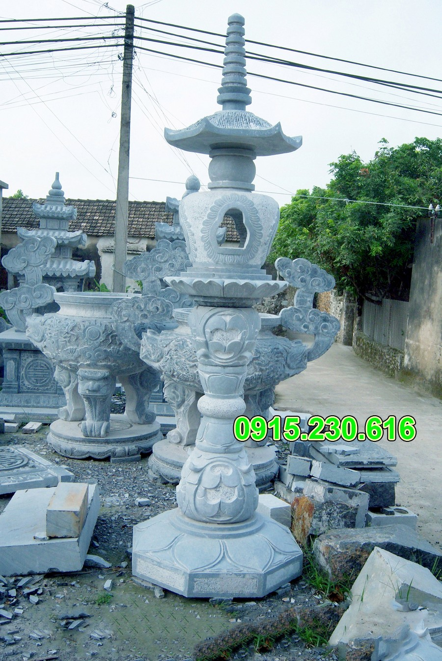 Mẫu đèn đá tự nhiên đẹp nhất Việt Nam