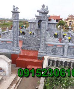Khu lăng mộ đá tại Ninh Vân