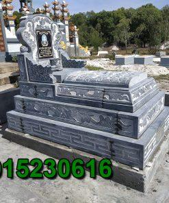 Mẫu mộ đá bành đẹp