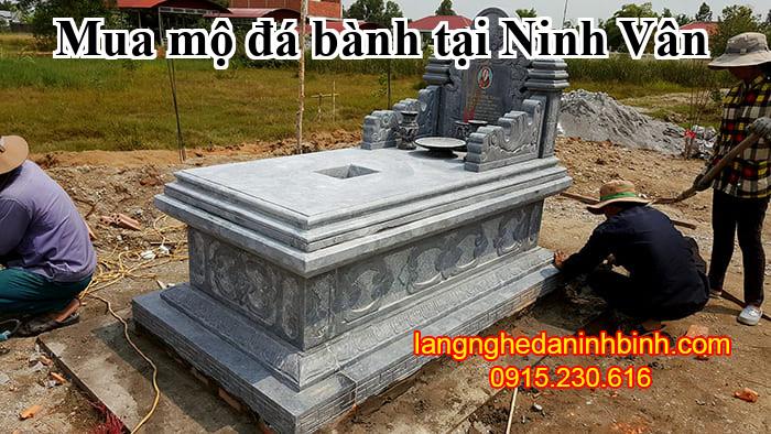 Mua mộ đá bành tại Ninh Vân