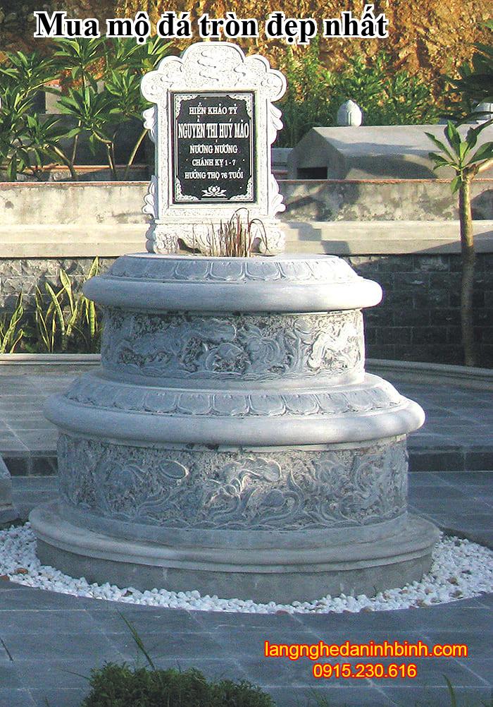 Mua mộ đá tròn đẹp nhất