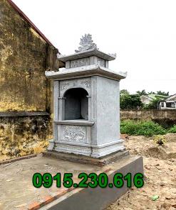 Mẫu miếu thờ bằng đá xanh tự nhiên đẹp