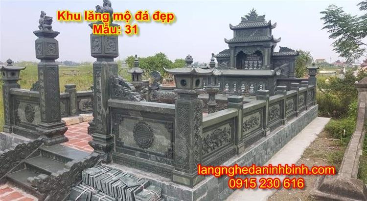 Khu lăng mộ đá đẹp của gia đình NB-11