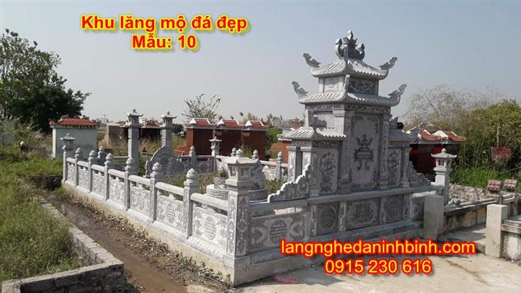 Lăng mộ đá gia đình giá rẻ NB-08
