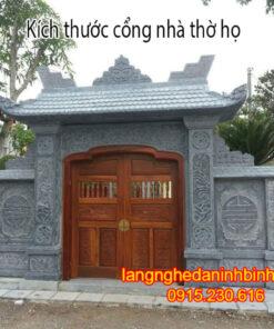 Kích thước cổng nhà thờ