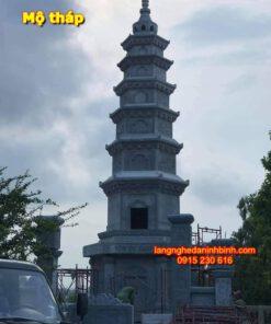 Mộ tháp để tro cốt tại Sài Gon NB-01, Mộ tháp bằng đá giá rẻ; Mộ tháp đá xanh tự nhiên; tháp mộ; Mộ tháp phật giáo bằng đá; địa chỉ mua mộ tháp giá rẻ;