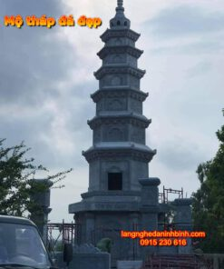 Mẫu tháp bằng đá giá rẻ PL-07, Tháp đá;Mộ tháp bằng đá; mẫu mộ tháp bằng đá đẹp; Mộ tháp; mộ tháp đẹp; Mẫu mộ tháp đẹp nhất hiện nay;