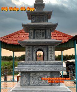 Mộ tháp phật giáo bằng đá PL-08, Mẫu mộ tháp đá khối; Xây tháp mộ; Mộ tháp đá để hài cốt; Mẫu mộ tháp đá ở chùa; Mẫu mộ tháp đá đẹp để tro cốt; Mộ tháp bằng đá giá rẻ; Mộ tháp đá xanh tự nhiên; Tháp mộ; Mộ tháp phật giáo bằng đá;