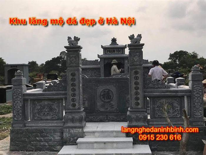 Khu lăng mộ đá đẹp ở Hà Nội