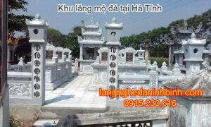 Khu lăng mộ đá tại Hà Tĩnh