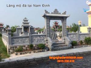 Lăng mộ đá tại Nam Định