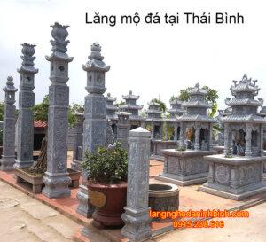 Lăng mộ đá tại Thái Bình