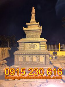 Mẫu tháp mộ đẹp để tro cốt bằng đá tại An Giang; Tháp đá; Mộ tháp bằng đá; mẫu mộ tháp bằng đá đẹp;  Mộ tháp; mộ tháp đẹp; mộ đá tháp;  Mẫu mộ tháp đẹp nhất hiện nay; Mộ đá hình tháp;