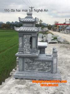 Mộ đá hai mái tại Nghệ An