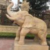 Tượng voi đá tự nhiên nơi bán tượng voi đá