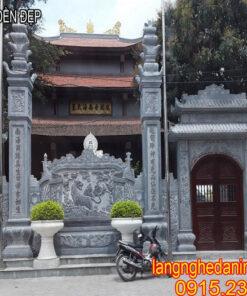 mẫu cổng đền đẹp