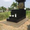 Xây mộ đá hoa cương granite đẹp ở Gia Lai