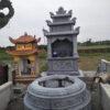 mộ đá tròn bình định