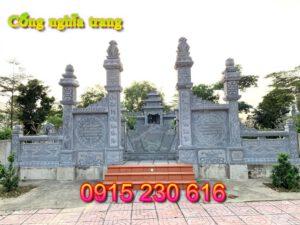 Cổng đá nghĩa trang ở Nghệ An; cổng nghĩa trang; mẫu cổng đá nghĩa trang; cổng nghĩa trang bằng đá; cổng khu lăng mộ; cổng đá; cổng đá đẹp;