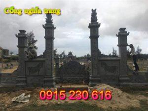 Cổng đá nghĩa trang ở Phú Thọ; cổng nghĩa trang; mẫu cổng đá nghĩa trang; cổng nghĩa trang bằng đá; cổng khu lăng mộ; cổng đá; cổng đá đẹp;