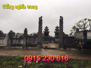 Cổng đá nghĩa trang ở Vĩnh Phúc; cổng nghĩa trang; mẫu cổng đá nghĩa trang; cổng nghĩa trang bằng đá; cổng khu lăng mộ; cổng đá; cổng đá đẹp;
