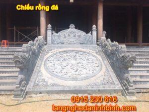 Chiếu rồng đá ở Bắc Giang
