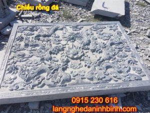 Chiếu rồng đá ở Lạng Sơn