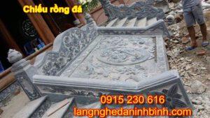 Chiếu rồng đá ở Thái Nguyên