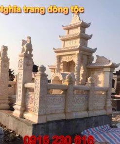Mẫu nghĩa trang dòng tộc ở Phú Thọ