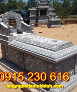 Mộ đá-2, mộ bằng đá, mộ đá đẹp, mộ đá xanh, mộ đá bành, mộ đá tam sơn, mộ đá không mái,