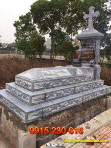 Mộ đá công giáo ở hà tĩnh; Mộ đá; mộ đá đẹp; mộ đá đôi; mộ đôi; mộ đơn; mộ đa tam cấp; mộ bành;