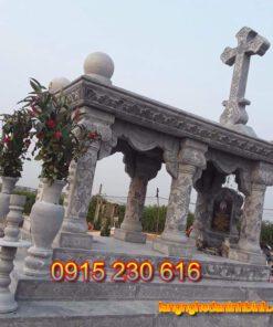 Mộ đá công giáo-1; Mộ thiên chúa giáo; mộ đá; mộ công giáo;mộ thiên chúa giáo; mộ đá xanh; mộ đá giá rẻ;