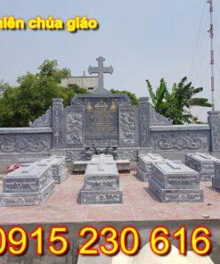 Mộ thiên chúa giáo bằng đá NB6