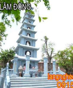 mộ tháp đá Lâm Đồng
