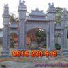 Cổng đá đẹp ở Lạng Sơn