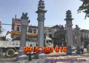 Cổng đá ở Bắc Ninh