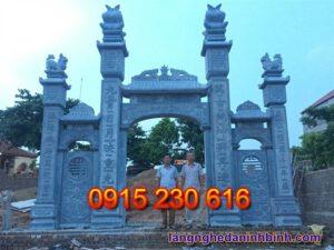 Cổng đá nhà thờ – Mẫu cổng đá đẹp ở Hà Tĩnh - 2
