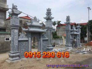Cổng đá ở Ninh Bình