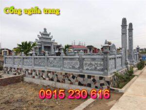 Cổng khu lăng mọ ở Hà Nội