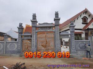 Cổng nhà từ đường ở Bắc Ninh