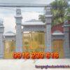 Cổng nhà từ đường ở Hà Tĩnh
