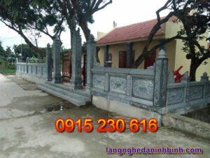 Cổng nhà từ đường ở Ninh Bình