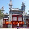 Cổng nhà từ đường ở Quảng Ninh