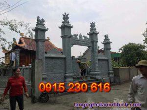 Cổng nhà thờ họ ở Bắc Ninh