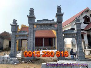 Cổng đá nhà thờ – Mẫu cổng đá đẹp ở Hà Tĩnh - 3