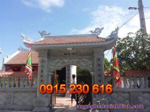 Cổng nhà thờ tổ ở Bắc Ninh