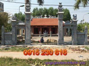 Cổng đá nhà thờ – Mẫu cổng đá đẹp ở Hà Tĩnh - 5