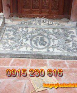 Chiếu rồng đá ở Hà Tĩnh