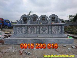 Nhận thi công lắp đặt mộ đá giá rẻ tại Lạng Sơn   Mộ đá ở Lạng Sơn